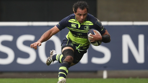Nacewa scored a crucial try against Montpellier in round two