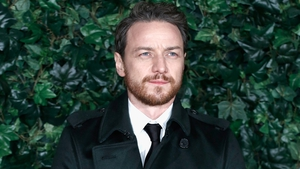 James McAvoy has said it's been a huge adjustment since splitting from his wife