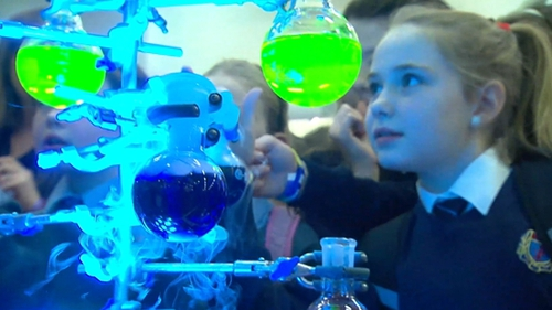 Over 3,000 primary school children are taking part in the RDS Primary Science Fair
