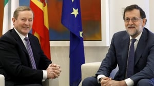 Enda Kenny and Mariano Rajoy held discussions in Madrid