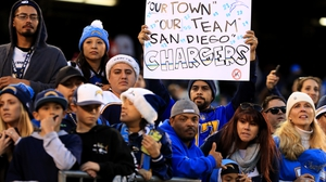 San Diego natives will have no NFL side to support as the Chargers are relocating to LA