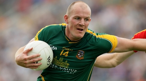 Joe Sheridan in action for Meath in 2012