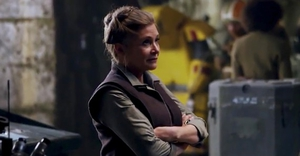 Carrie Fisher may make an appearance yet in Episode IX
