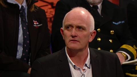 The Late Late Show: Irish Coast Guard Panel