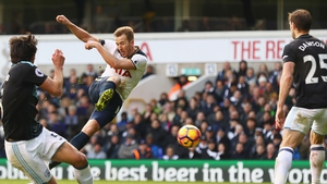 Harry Kane scored a hat-trick to take his tally for the season to 15 in all competitions