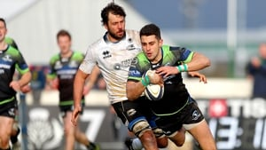 Tiernan O'Halloran helped himself to tries at the Sportsground