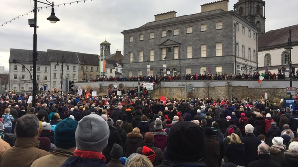 Waterford Cath lab protest