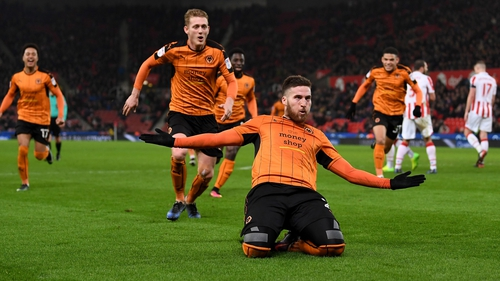 Matt Doherty hit the headlines with a stunning goal in the FA Cup