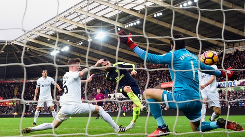 Olivier Giroud put the Gunners ahead