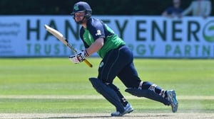 Paul Stirling top-scored for Ireland