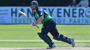 Paul Stirling scored 51 for Ireland