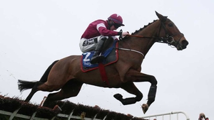 Barra (pictured) and Ball D'Arc provided Jack Kennedy and Gordon Elliott with a double at Fairyhouse