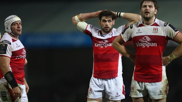 Ulster now sit bottom of the pool