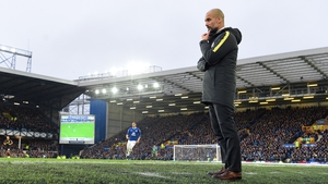 Guardiola suffered the heaviest league defeat in his managerial career at Goodison Park