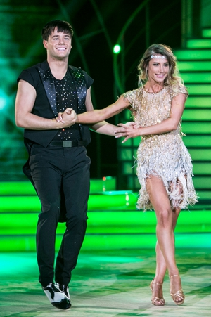 Week 1: Hometown's Dayl Cronin brings the Charleston to 2017 with Ksenia Zsikhotska in another fab fringed number.