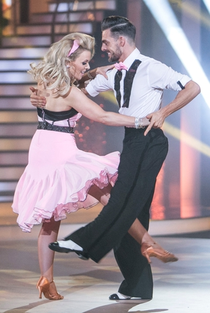 Week 2: Denise McCormack is quick stepping her way to the top - the dress was made for jiving.