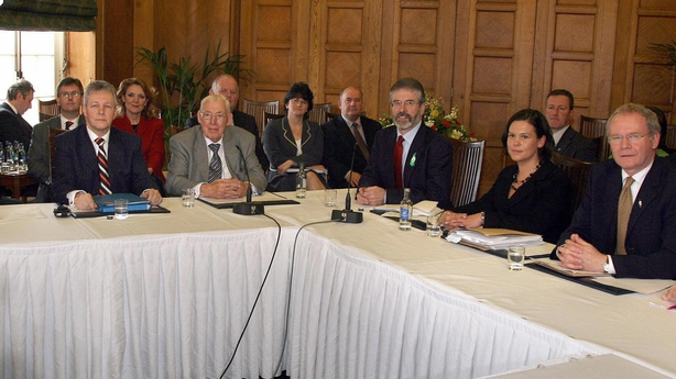 Press conference at Stormont  26 March 2007