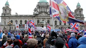 Mass loyalist demonstrations were staged across Northern Ireland