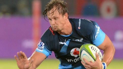 Arno Botha, pictured in action for the Bulls, made his South African debut in 2013