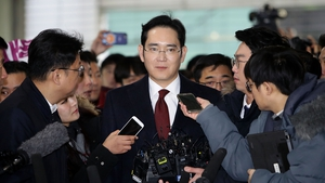 Lee Jae-yong became head of the Samsung Group in 2014