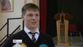 Young Scientist given hero's welcome at school