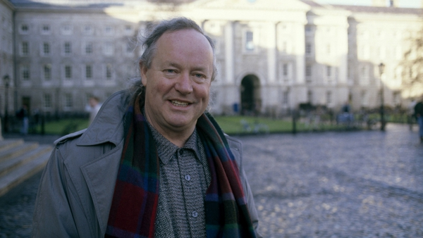 Brendan Kennelly held the post of Professor of Modern Literature at Trinity College Dublin
