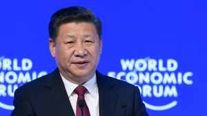 Xi Jinping is the first Chinese president to address the World Economic Forum at Davos