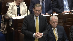 Enda Kenny's response to a question on Bus Éireann led to laughter and heckling
