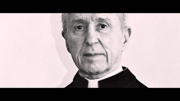 Irish priest Malachi Martin, the subject of the new documentary Hostage To The Devil, now on Netflix.