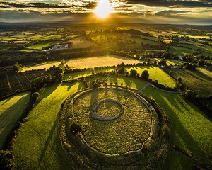 Winning Entry: Alan O' Reilly, Rathgall Hillfort, Co. Wicklow