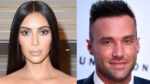 A rep for Kim Kardashian says she met Calum Best in school, but they did not date