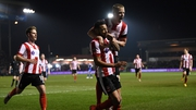 Lincoln City grabbed a late winner to knock out Ipswich