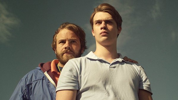 Moe Dunford and Nicholas Galitzine in Handsome Devil