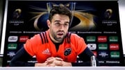 Conor Murray at today's press conference