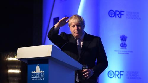 Boris Johnson compared Francois Hollande to a WWII camp guard