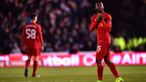Daniel Sturridge applauds the Liverpool fans as he leaves the pitch