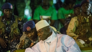 Yahya Jammeh lost elections last month