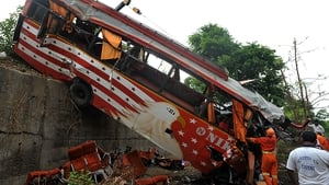 Road incidents killed nearly 150,000 people in India last year, including this crash last June when 17 died