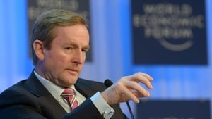 Enda Kenny at a previous gathering in Davos