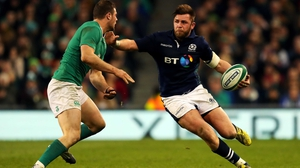 Ireland face Scotland on 4 February