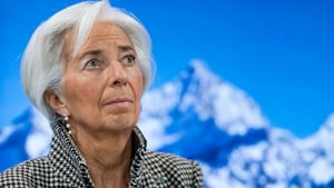 IMF chief Christine Lagarde warns on risks stemming from the policy promises of Donald Trump in the US