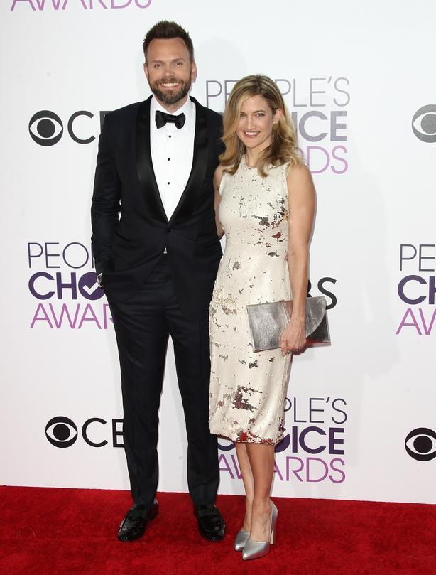 Joel Hale and Sarah Williams