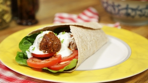 OT: Healthy Beef Kofta Wraps