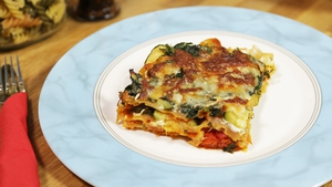 Veggie Lasagna: Operation Transformation