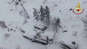 Specialist mountain police who had reached the hotel on skis or by helicopter have begun extracting bodies