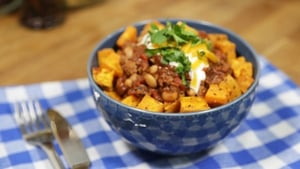 OT: Delish Chilli and Sweet Potato Cubes
