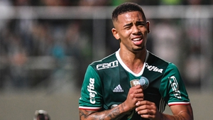 Gabriel Jesus helped Palmerias to a first league title since 1994