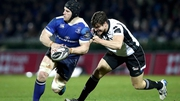 Sean O'Brien in action against Zebre