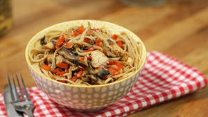 Try Operation Transformation's Super Quick Singapore Noodles tonight.