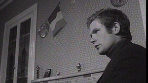 Martin McGuinness pictured in the 1970s